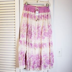 Spell & the Gypsy Coco Lei Skirt Lilac